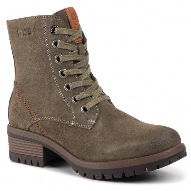 Magasított cipő BIG STAR EE274267 Khaki