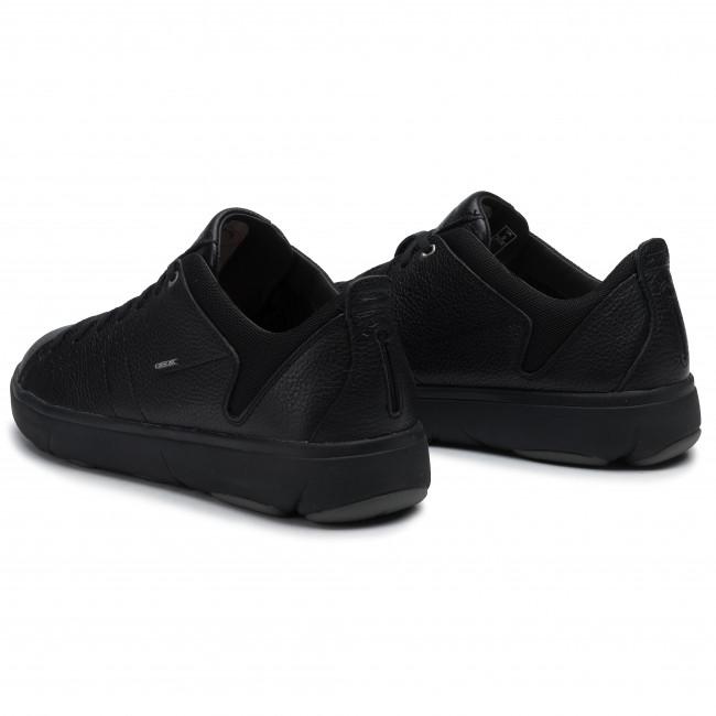 Félcipő GEOX - U Nebula Y A U948FA 00046 C9999 Black - Sneakers - Félcipő - Férfi