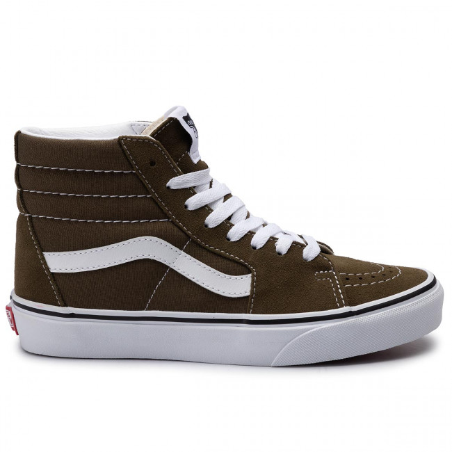 Sportcipő VANS - Ski8-Hi VN0A4BV6V7D1 Beech/True White - Sneakers - Félcipő - Női