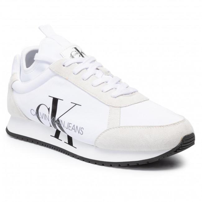 Sportcipő CALVIN KLEIN JEANS Jemmy B4S0136 White