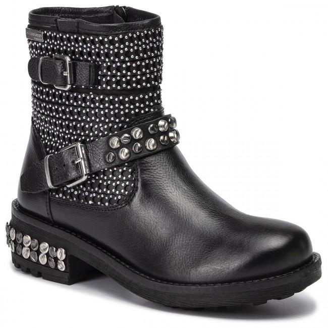 Magasított cipő LES TROPEZIENNES - Zorea 17033 Black