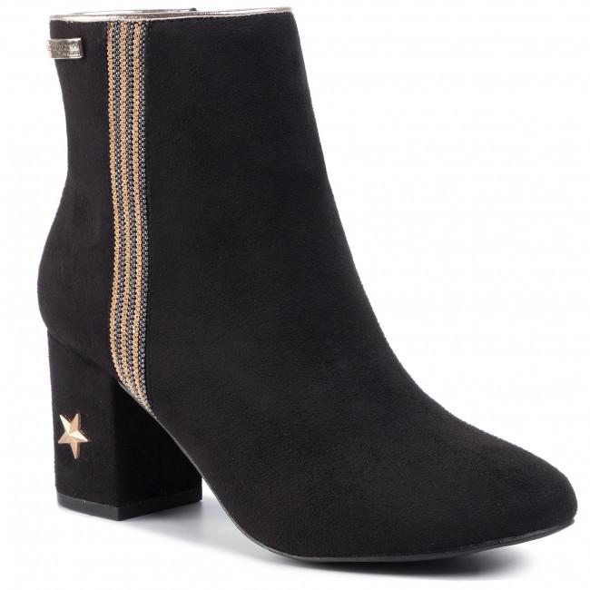 Magasított cipő LES TROPEZIENNES - Corella C17067 Black