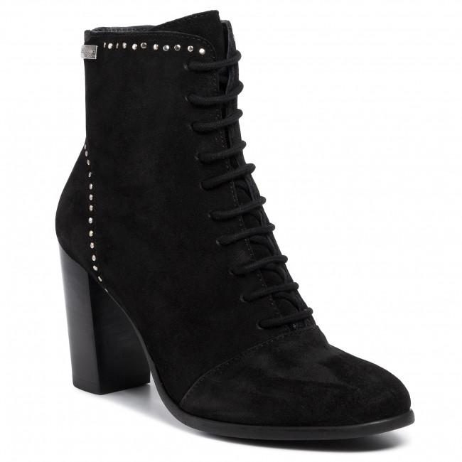 Magasított cipő LES TROPEZIENNES - Kenda 22307 Black