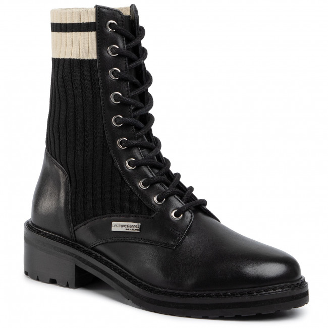 Magasított cipő LES TROPEZIENNES - Zina 22315 Black