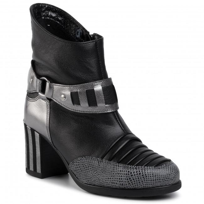 Magasított cipő MACIEJKA 04219 0100 3 Fekete