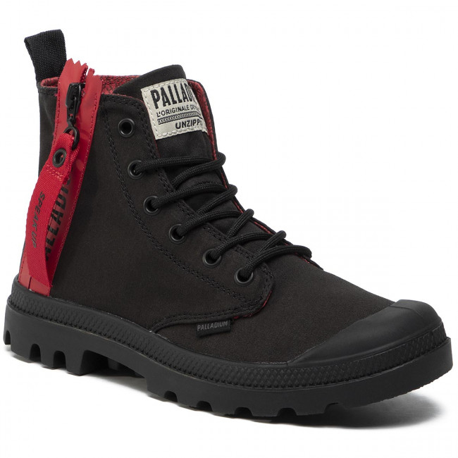 Bakancs PALLADIUM - Pampa Unzipped 76443-008-M Black