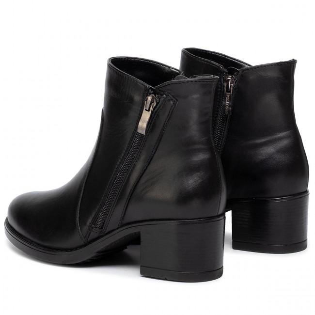 Magasított cipő POLLONUS 5 1020 005 Czarny Lico