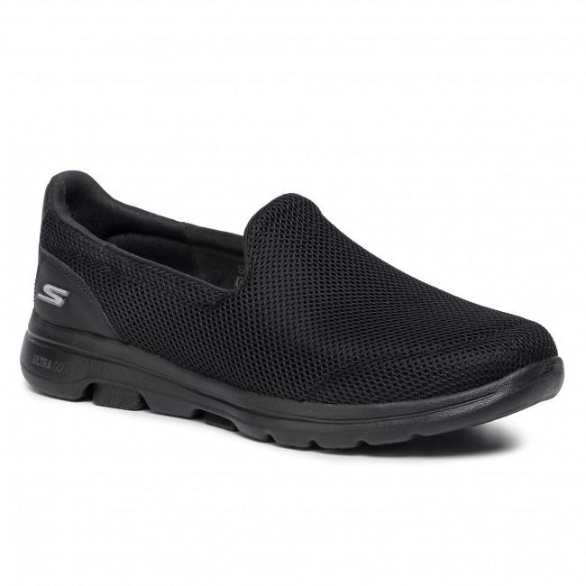 Félcipő SKECHERS - Go Walk 5 15901/BBK Black