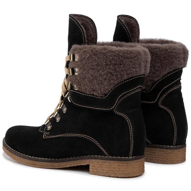 Magasított cipő SOLO FEMME 78603 01 G70000 20 00 Fekete