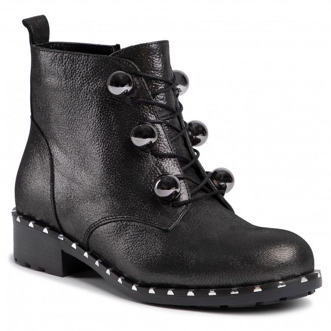 Magasított cipő LORETTA VITALE 417 Black Silver