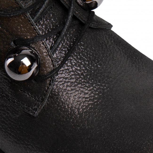 Magasított cipő LORETTA VITALE - 417 Black Silver - Bokacsizmák - Csizmák és egyebek - Női