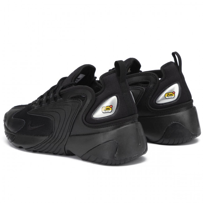 Nike Zoom 2K sneakers in white and black $85.00   Black and