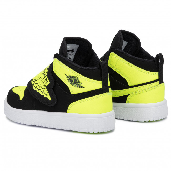 re7d53943 cipő nike sky jordan 1 004 black hyper royal white