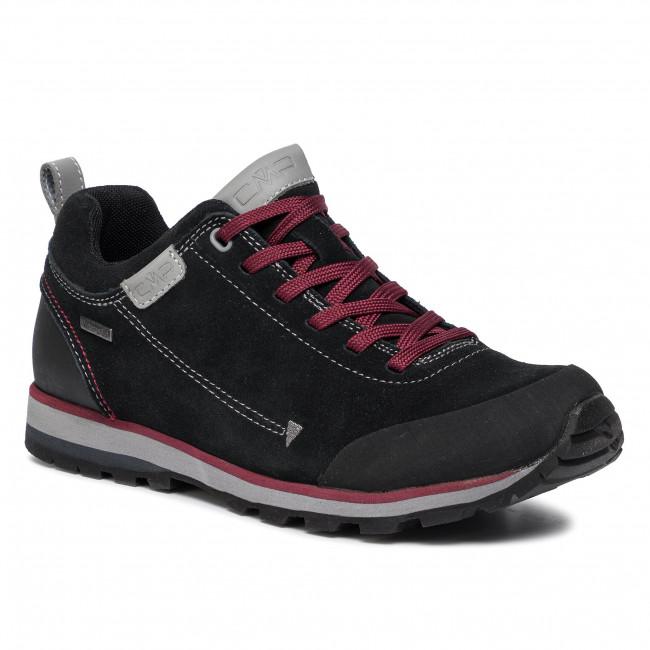 Bakancs CMP Elettra Low Hiking Shoes Wp 38Q4617 Nero U901