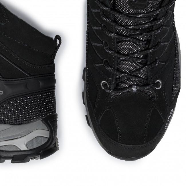 Bakancs CMP - Rigel Mid Trekking Shoes Wp 3Q12947 Nero/Grey 73UC - Bakancsok - Csizmák és egyebek - Férfi