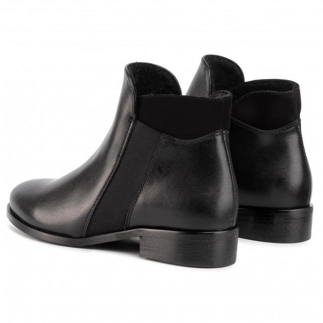 Magasított cipő SAGAN 3087 Czarny Lico