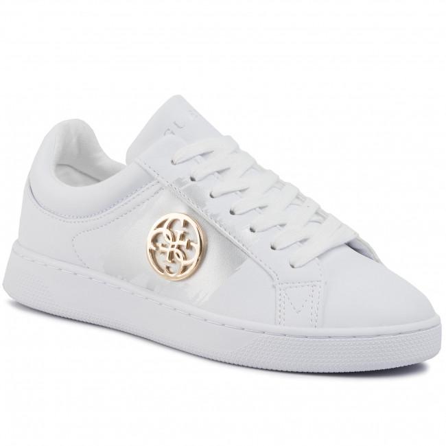 Sportcipő GUESS - Reima FL5REI ELE12  WHITE/GOLD