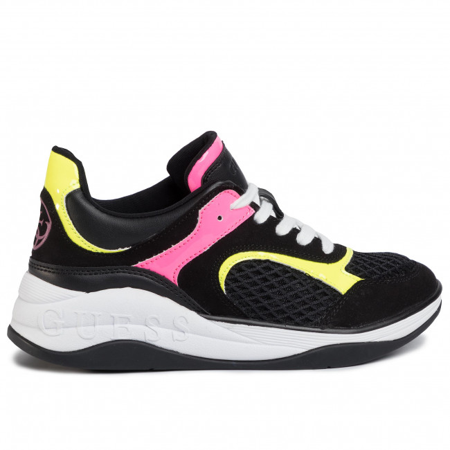 Sportcipő GUESS - Saucey FL6SA2 ELE12  BLACK - Sneakers - Félcipő - Női