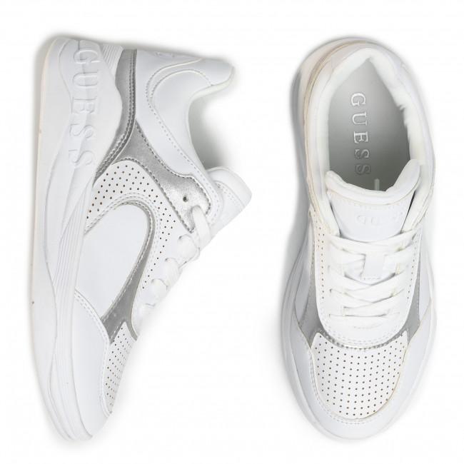 Sportcipő GUESS - Saucey5 FL6SA5 ELE12  WHISI  - Sneakers - Félcipő - Női