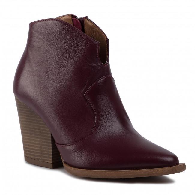Magasított cipő R.POLAŃSKI - 1026 Bordo Lico