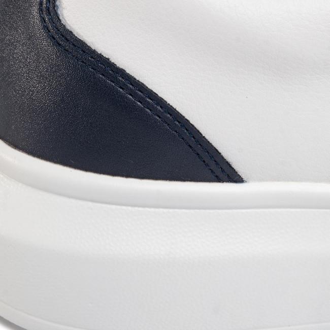 Olcsó Férfi Cipők Sportcipő GUESS - Salerno FM6SAL LEA12 WHIBU - Sneakers - Félcipő - Férfi 2Tm8QrfA