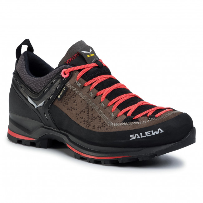 Bakancs SALEWA - Ws Mtn Trainer 2 Gtx GORE-TEX 61358-0480 Driftwood/Fluo Coral