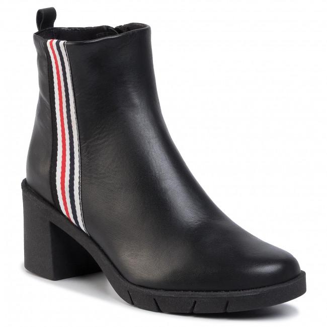 Magasított cipő THE FLEXX - Speak Up D5504/24 Black