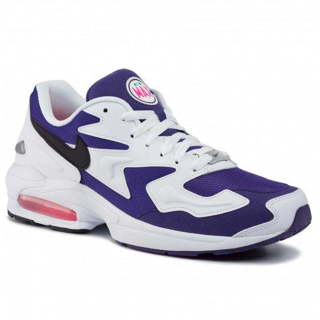 Cipő NIKE Air Max2 Light AO1741 103 WhiteBlack Court Purple