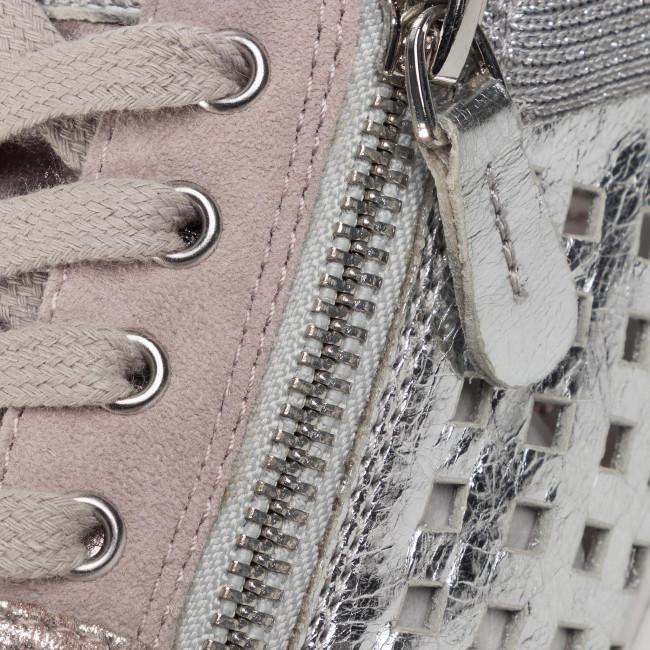 Sportcipő CAPRICE - 9-23503-24 Soft Pink Comb 594 - Sneakers - Félcipő - Női