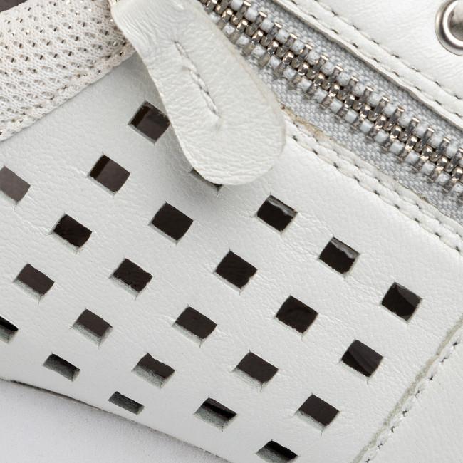 Sportcipő CAPRICE - 9-23503-24 White Comb 197 - Sneakers - Félcipő - Női