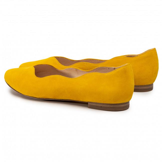 Balerina CAPRICE 9 24201 24 Yellow Suede 641