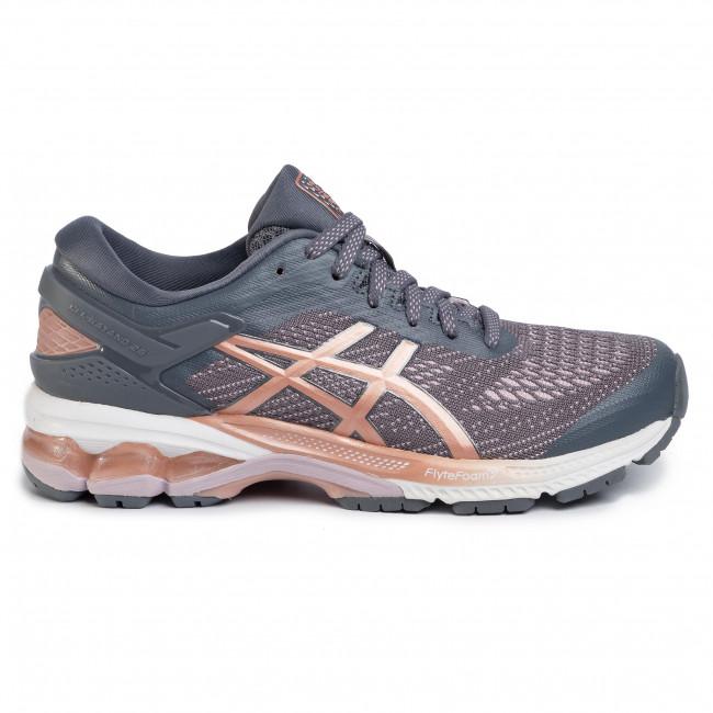 Cipő ASICS - Gel-Kayano 26 1012A457  Metropolis/Rose Gold 002 - Edzőcipők - Futócipők - Sport - Női