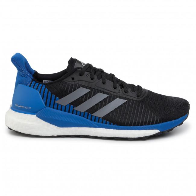 Cipő adidas - Solar Glide St 19 M F34098 Cblack/Grefiv/Blue - Edzőcipők - Futócipők - Sport - Férfi
