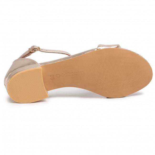 Szandál GIOSEPPO - Eutaw 59817 Gold - Hétköznapi szandálok - Szandálok - Papucsok és szandálok - Női