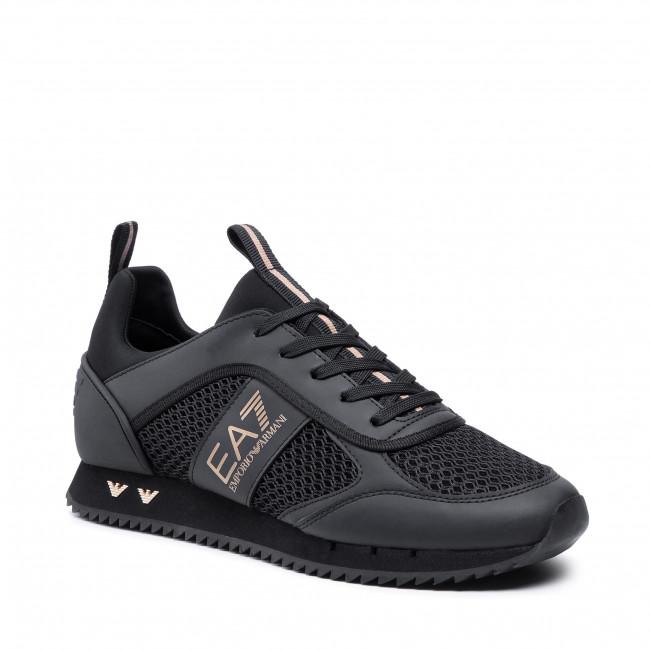 Sportcipő EA7 EMPORIO ARMANI - X8X027 XK050 M701  Triple Black/Gold