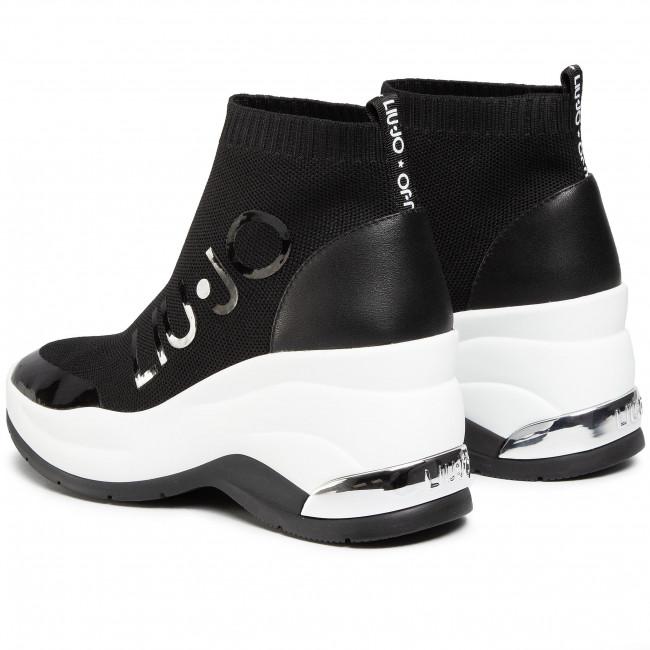 Sportcipő LIU JO - Karlie Revolution BA0065 TX124 Black 22222 - Sneakers - Félcipő - Női