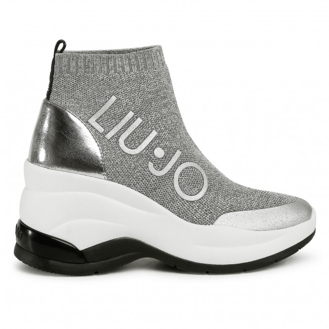 Sportcipő LIU JO - Karlie Revolution BA0065 TX125 Silver 00532  - Sneakers - Félcipő - Női