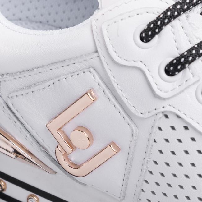 Sportcipő LIU JO - Maxi Alexa BXX051 P0102 White 01111 - Sneakers - Félcipő - Női