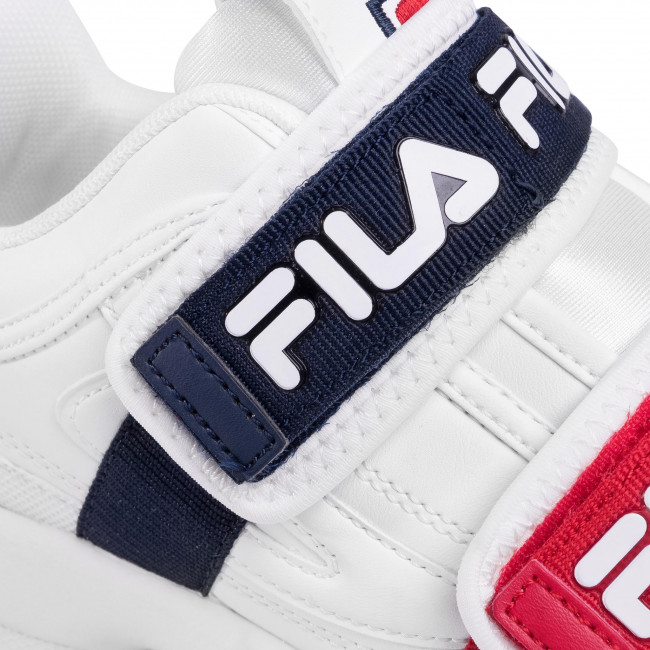Sportcipő FILA - Disruptor Straps Wmn 1010859.1FG White - Sneakers - Félcipő - Női