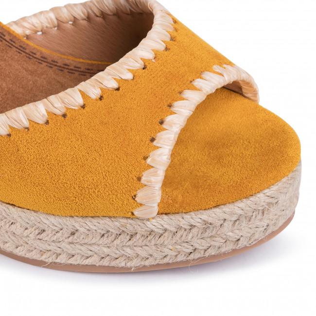 Espadrilles REFRESH - 69561 Yellow  - Espadrilles - Papucsok és szandálok - Női