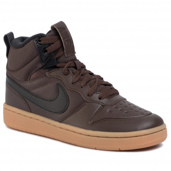 Cipő NIKE Court Borough Mid 2 Boot (GS) BQ5440 200 Baroque BrownBlack