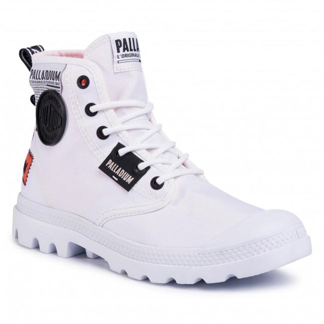 Bakancs PALLADIUM - Pampa Lite Overlab 76639-100-M White