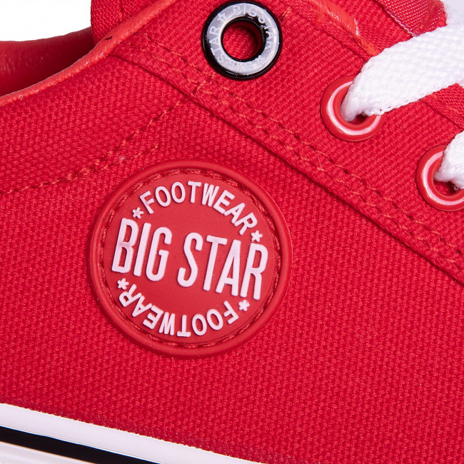 Teniszcipő BIG STAR - FF274472 Red - Tornacipők - Félcipő - Női