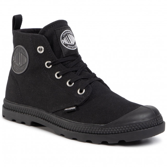 Bakancs PALLADIUM - Lp Mid Cvs 96710-001-M Black/Black