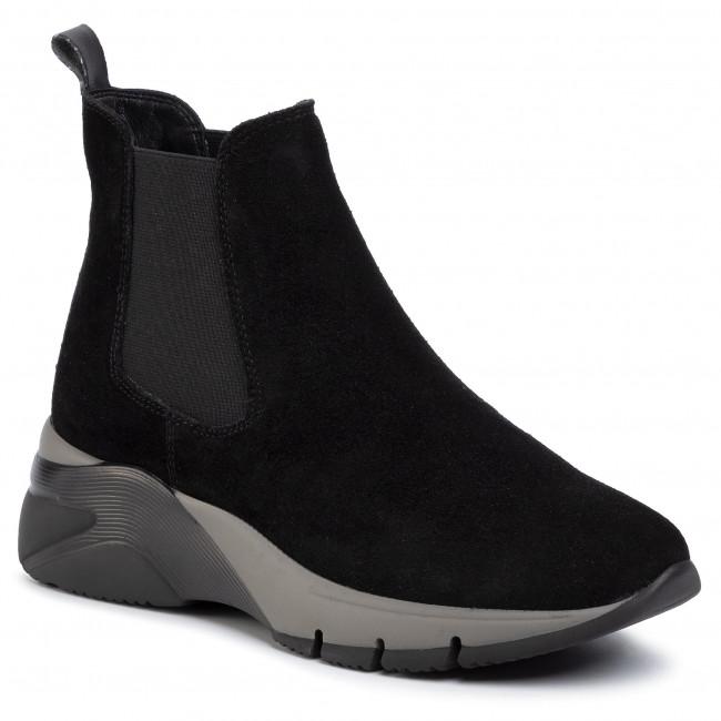Magasított cipő TAMARIS 1 25441 33 Black 001