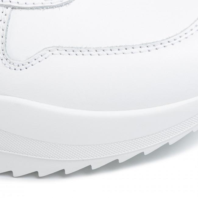 Online Legolcsóbb Férfi Cipők Sportcipő DSQUARED2 -  Lace-Up Low Top Sneakers SNM0093 01500001 2124 Bianco - Sneakers - Félcipő - Férfi DucSAOX7