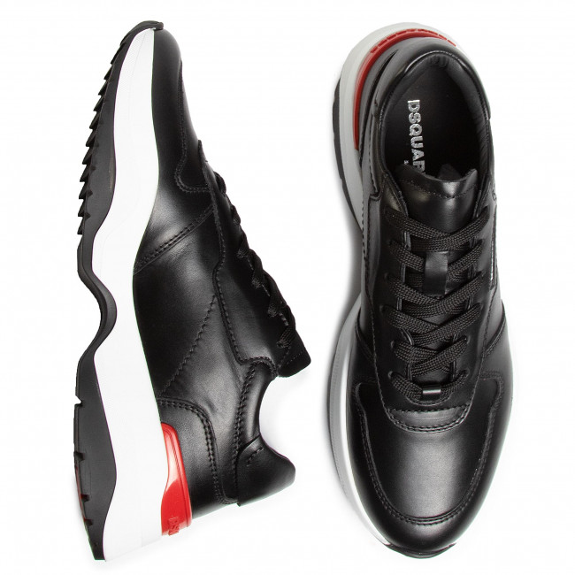 Új Kiadás Férfi Cipők Sportcipő DSQUARED2 - Lace-Up Low Top Sneakers SNM0093 01500001 2124 Nero - Sneakers - Félcipő - Férfi hcuFiW6c