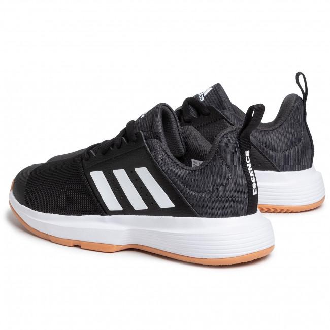 Kedvezmény Férfi Cipők Cipő adidas - Essence M FU8397 Cblack/Cwhite/Gresix - Teremcipők - Sport - Férfi Q71mYNfk