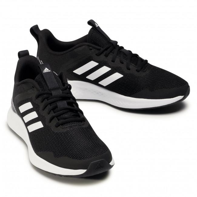 Cipő adidas - Fluidstreet FW1703 Core Black/Cloud White/Core Black - Edzőcipők - Futócipők - Sport - Férfi