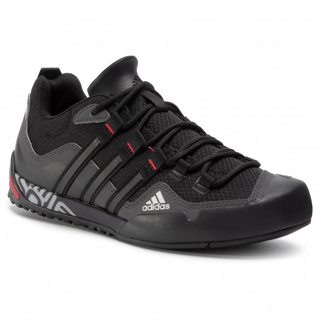 Cipő adidas - Terrex Swift Solo FX9323  Grey Six/Core Black/Scarlet